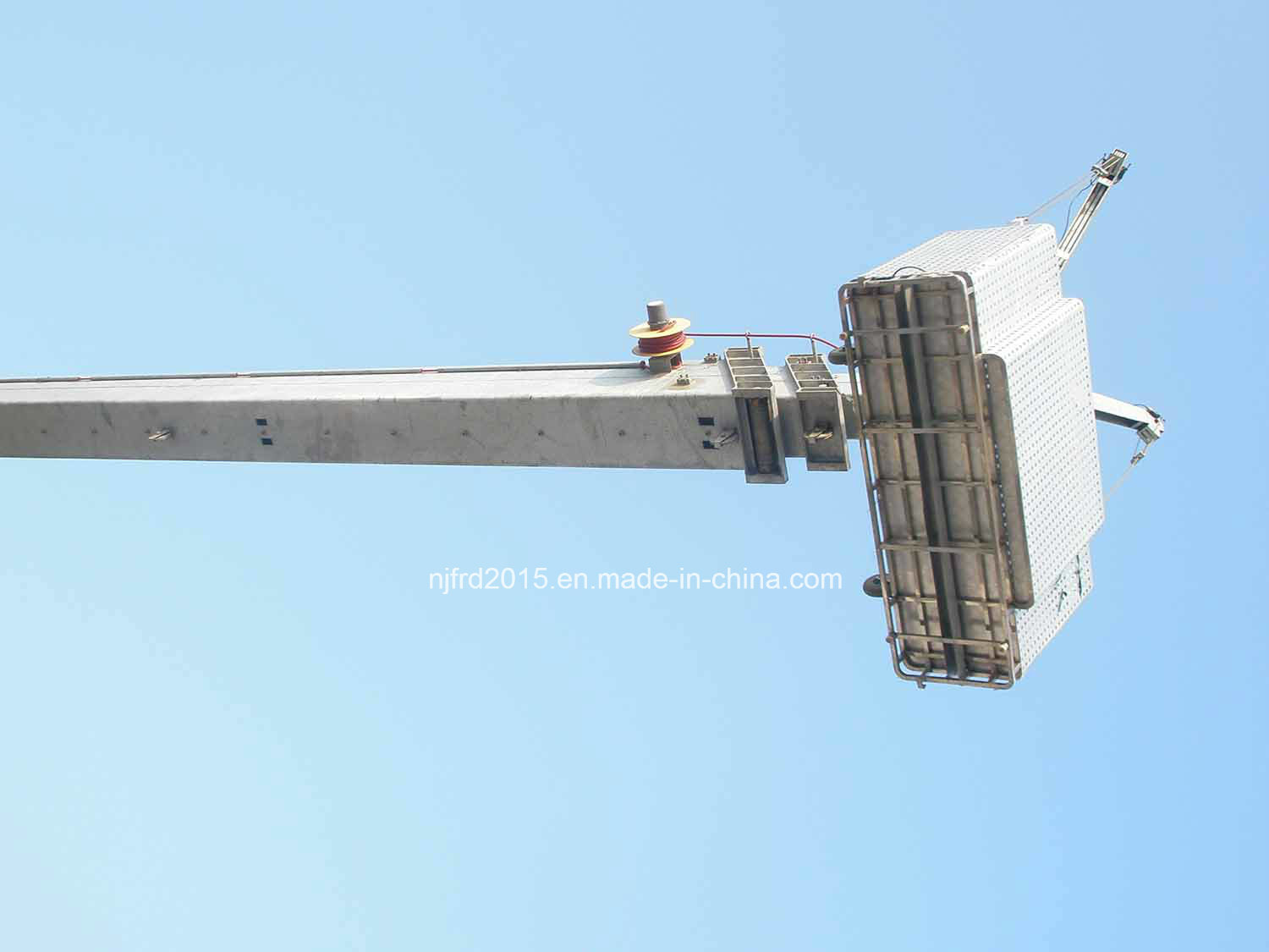 Nfjupiter Models with Telescopic Mast Building Maintenance Units Bmu