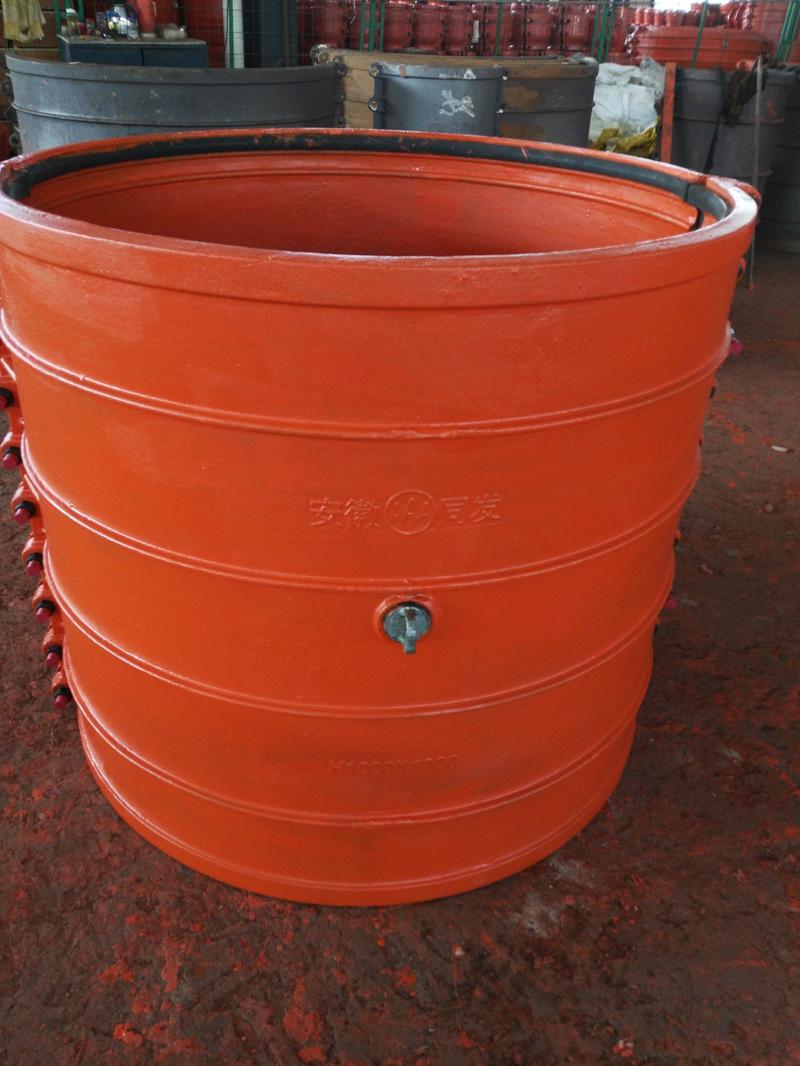 Pipe Repair Clamp H1000X1000, Pipe Repair Coupling, Pipe Repair Sleeve, Pipe Leak Repair Clamp for Cast Iron Pipe, Ductile Iron Pipe, Leaking Pipe Quick Repair