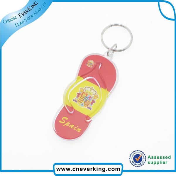 Promotional Gifts Fancy Cheap Custom Logo Print Key Ring