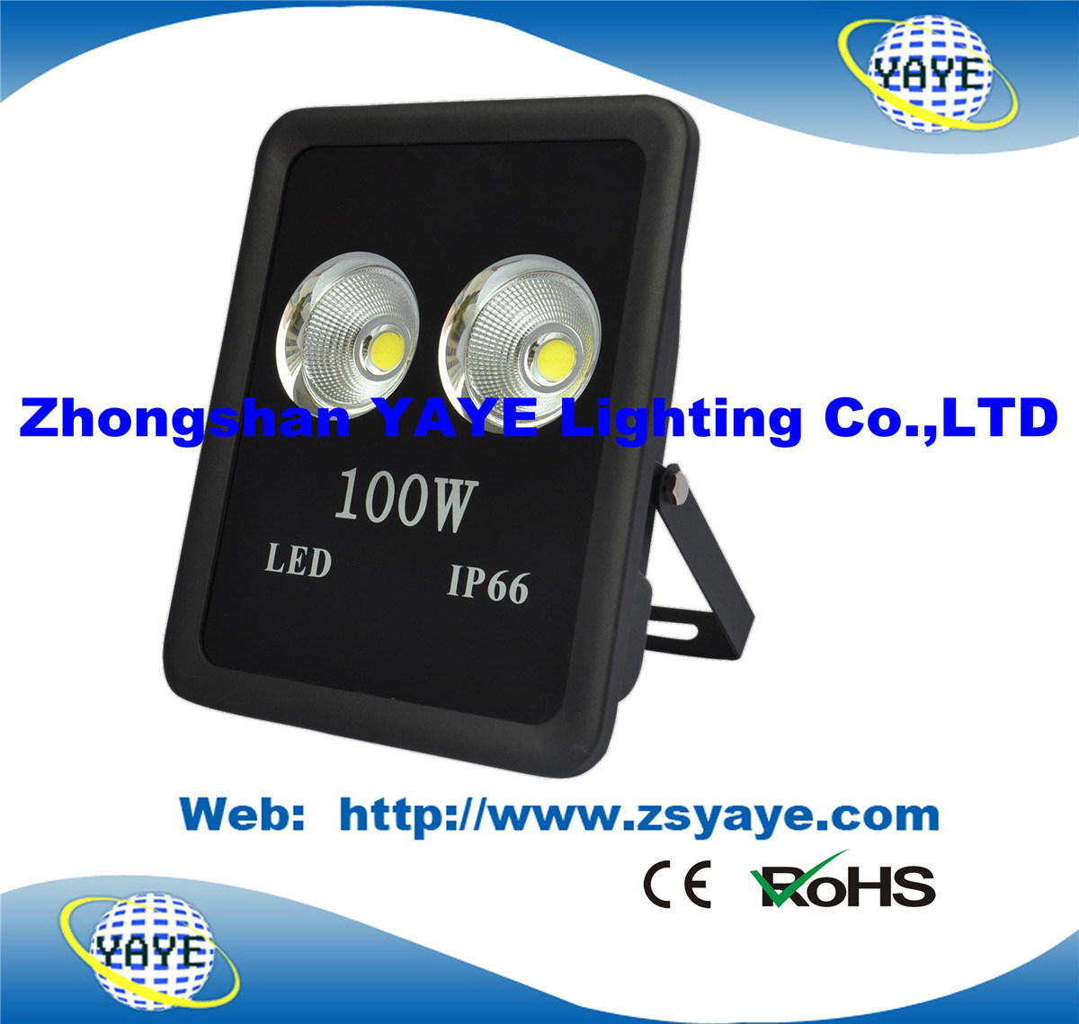 Yaye 18 Hot Sell Ce/RoHS/3 Years Warranty COB 100W LED Floodlight /100W COB LED Tunnel Light