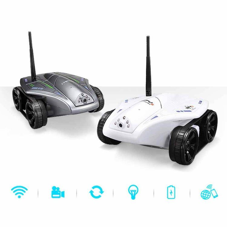 045325W-WiFi 0.3MP APP Control 1300mAh 20m RC Tank