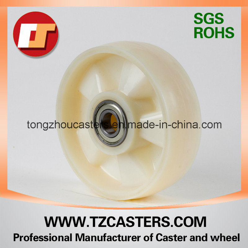 Mc Nylon Wheel with Ribs 200X50