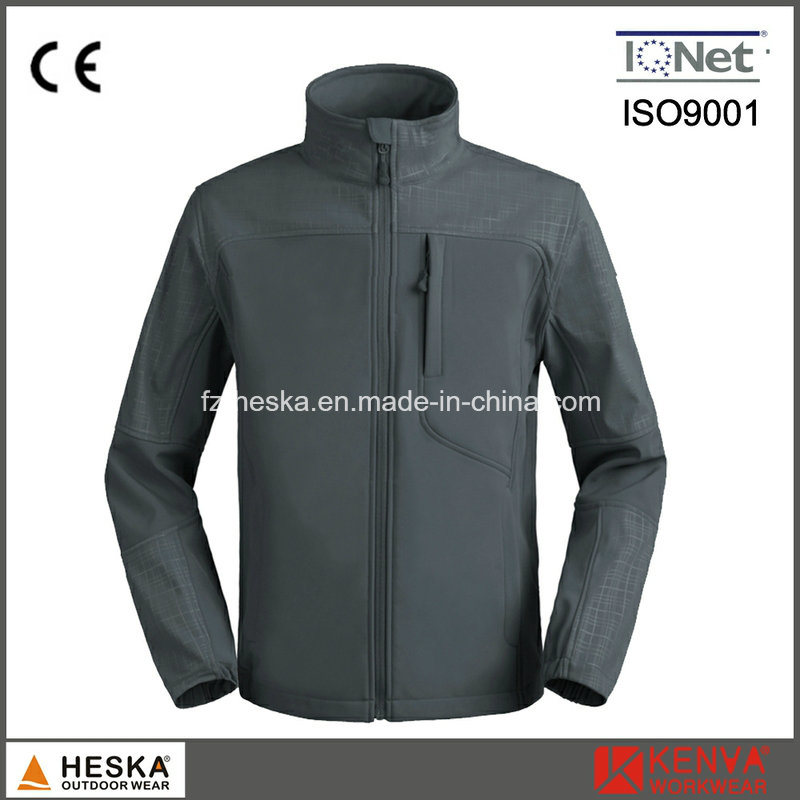 Wholesale Waterproof Breathable Softshell Jacket Men Outdoor Wear