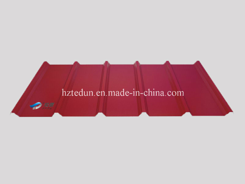 Trapezoidal Corrugated Galvanized Sheet