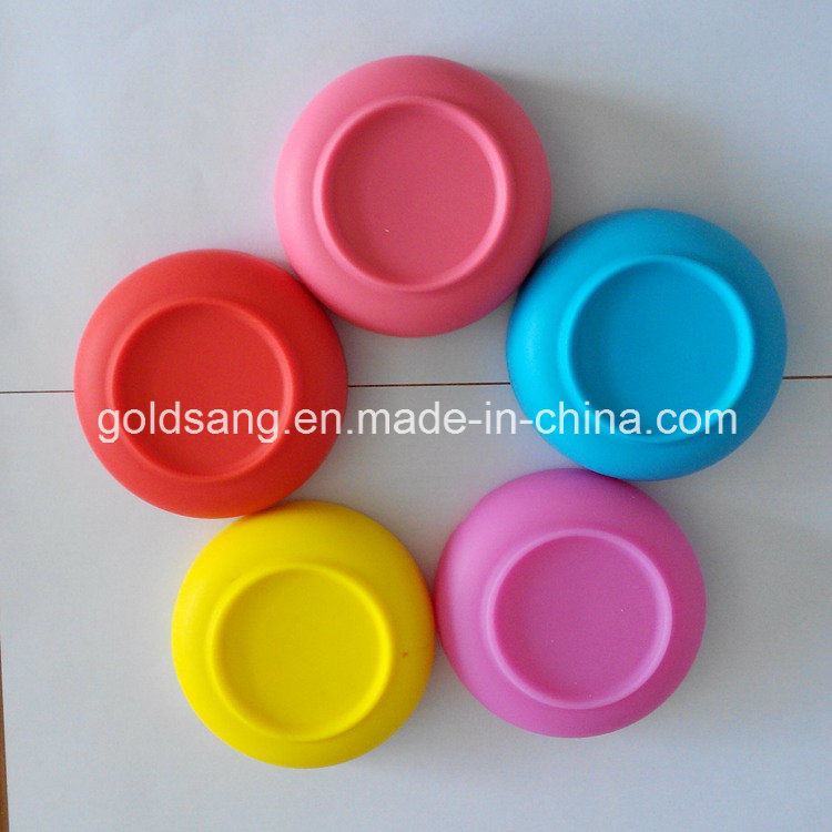 Highly Heat-Resistant Non-Toxic Silicone Ashtray /Customized Logo Round Silicone Ashtray