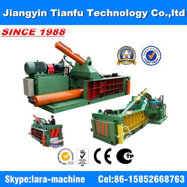 Y81q 1350 Forward Push out Metal Recycling Machine Hydraulic Baler for Ubc
