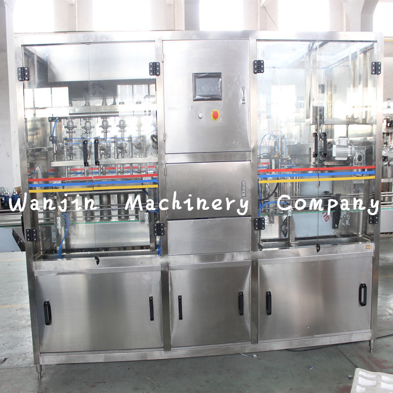 Automatic Efficient Edible Cooking Oil Bottle Filling Production Line