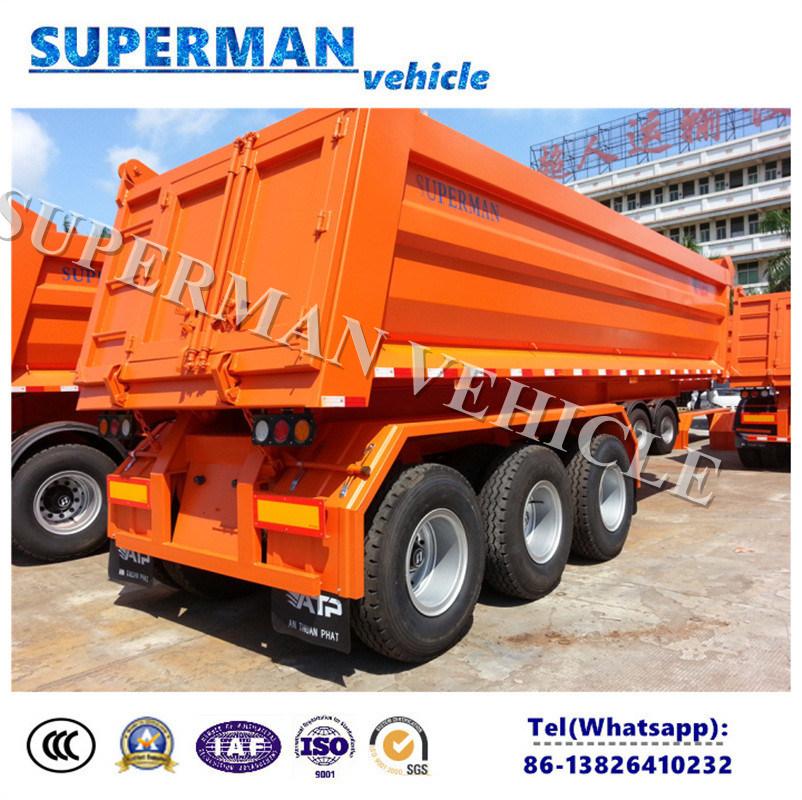 25cbm 3 Axle Front Lifting Tipper/ Tipping/Dumper Semi Truck Trailer