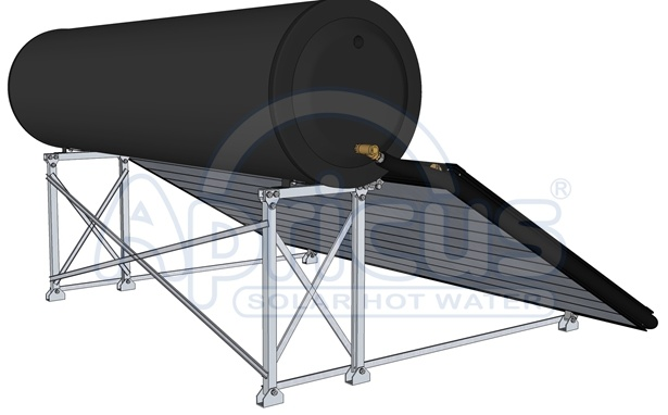 Apricus High Quality Compact Thermosyphon Solar Water Heater (FTS-A32-300E)