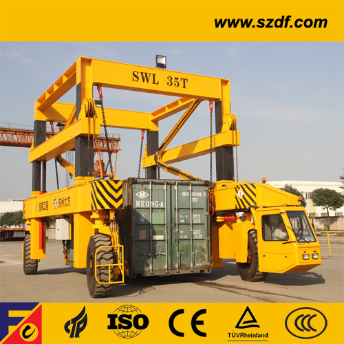 Container Shuttle Carrier for Stacking Yard /Rtg Crane