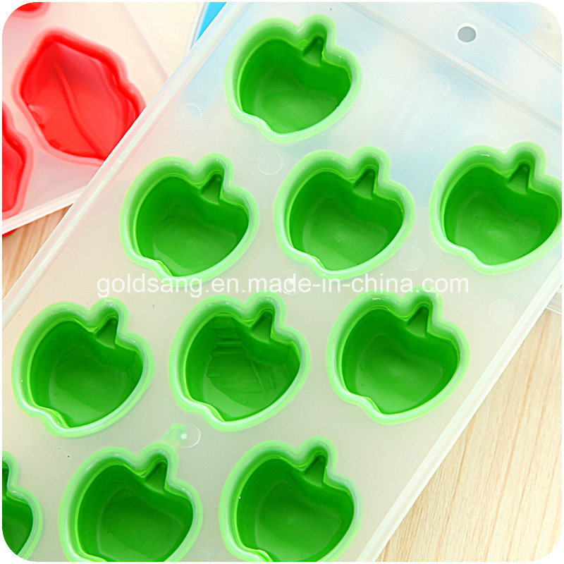Various and Colorful Silicone Ice Cube Tray/ Cake Mould