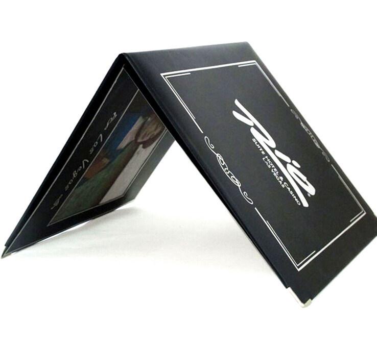 Matt Black Leather Memorial Album