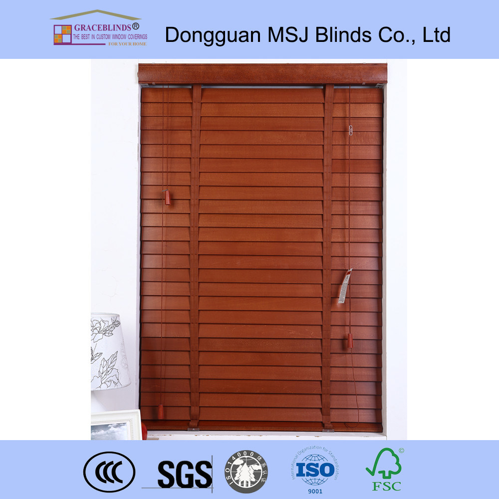 Window Covering Wood Blinds Venetian Blinds