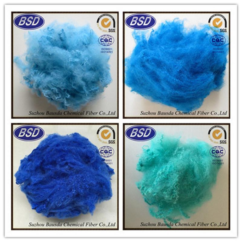 Flame Retardant Regenerated Dope Dyed Polyester Staple Fiber PSF