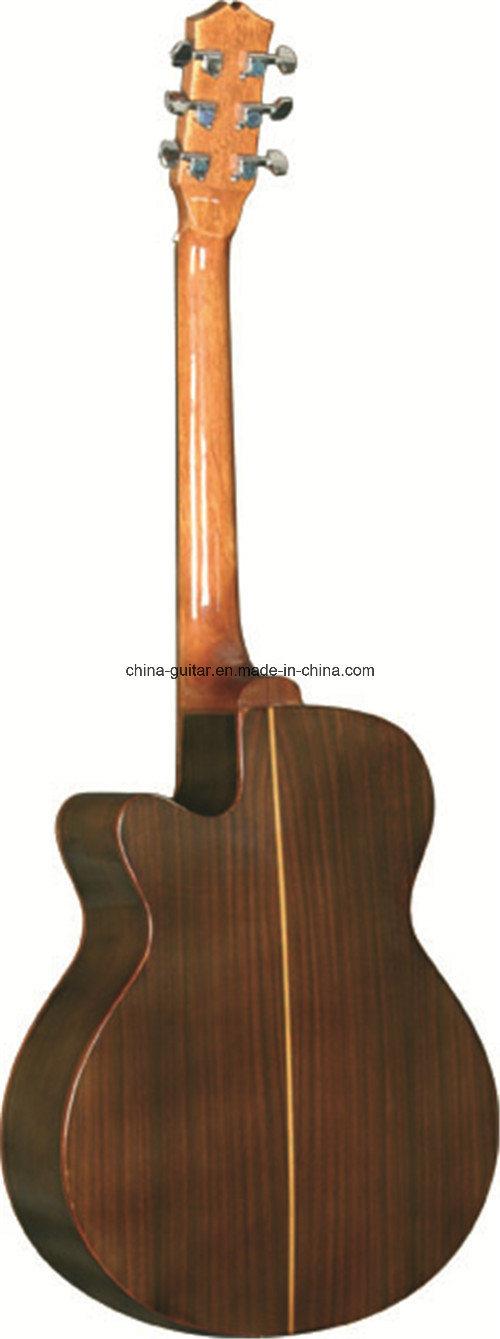 40′′ Rosewood Cutaway Acoustic Guitar