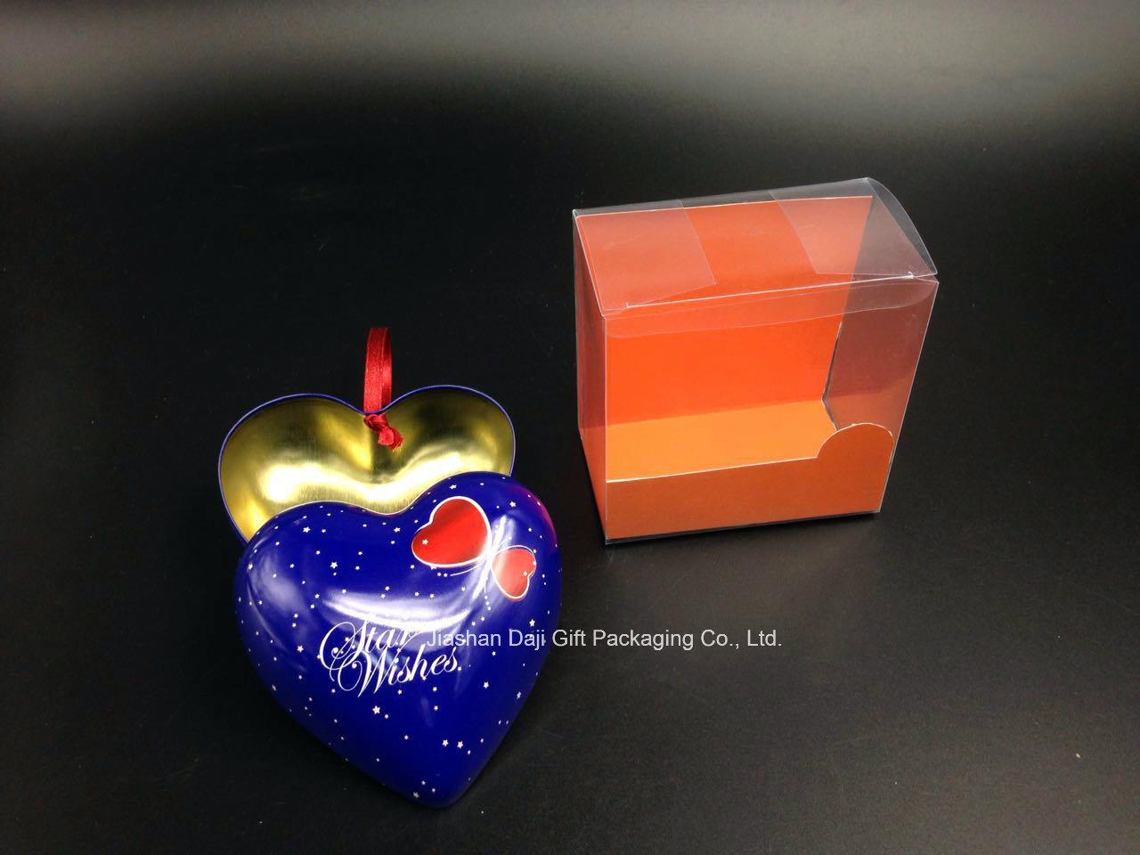 Heart Shape Gift Tin Box (H001-V1)