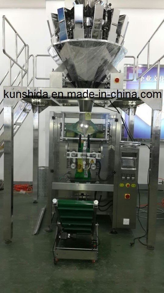 Multi-Head Weigher Packing Machine with 10heads or 14heades
