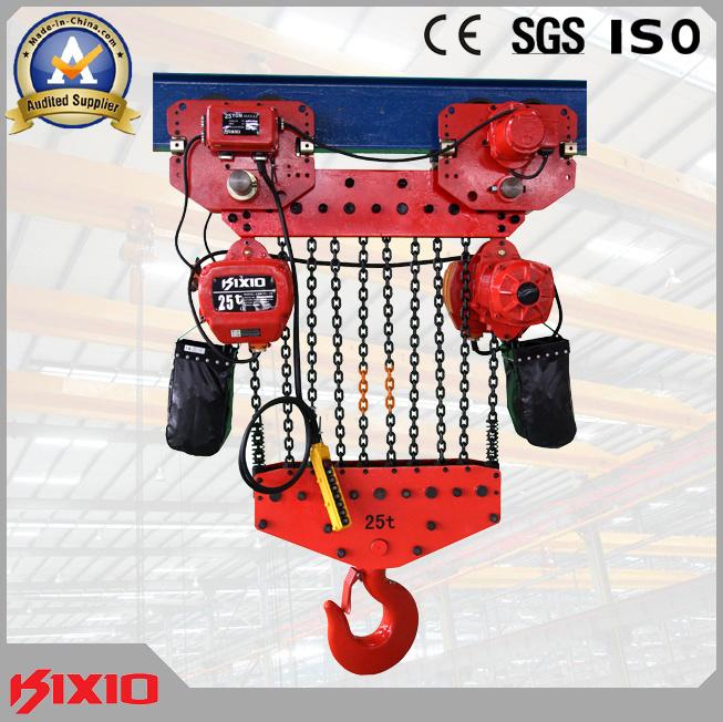 Heavy Duty 15, 20, 30 Ton Harga 220~690V Lifting Machine