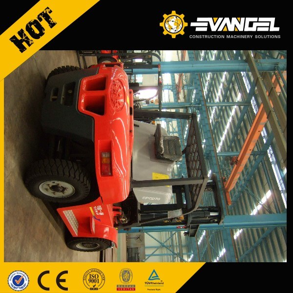 Hot Sale Yto Big Diesel Forklift Price Cpcd70 (Isuzu engine)