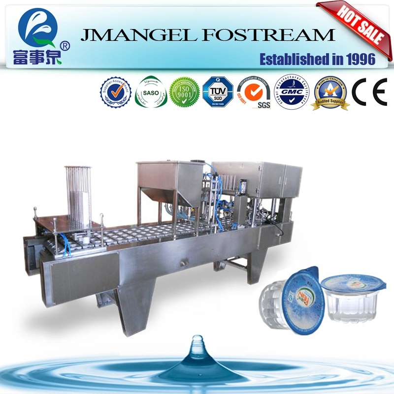 Factory Supply Automatic Mineral Water Cup Sealing Machine