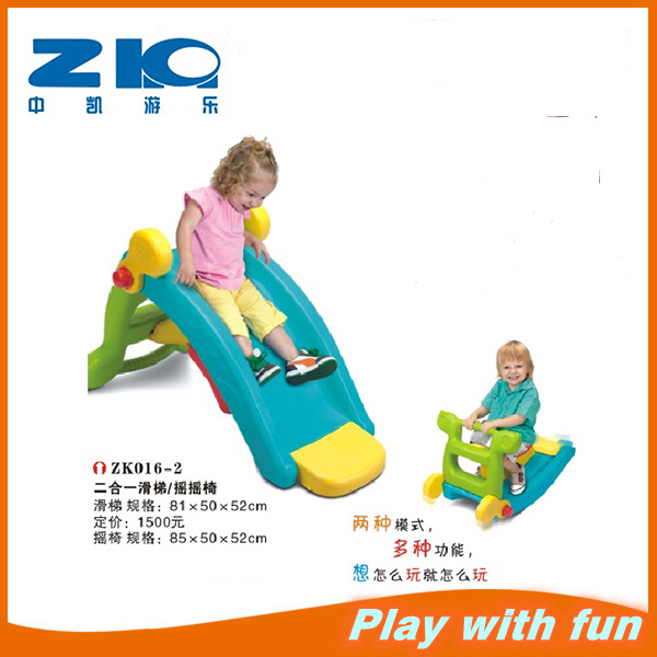 Plastic Mini Slide Plastic Toy Rocking Horse on Sell