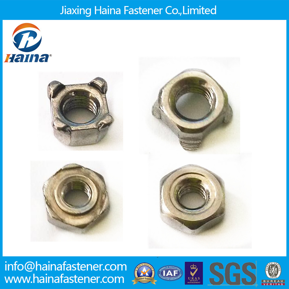 Stock Stainless Steel Square/Weld/Wing/Flange/Cap/Cage/Nylon Lock Nut (DIN315 DIN928 DIN929 DIN1587 DIN985 DIN6923)