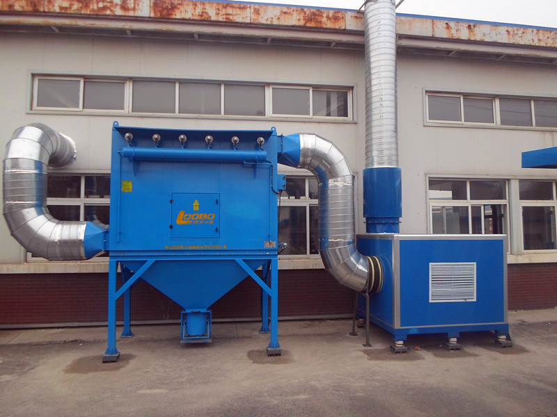 Pulse Jet Bag Filter Dust Collector for Metal Dust Partricles/Sanding/Grinding (LB-D)