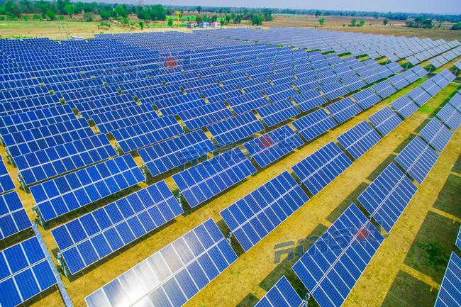 High Output Solar Horizontal Single Axis Solar Tracking System