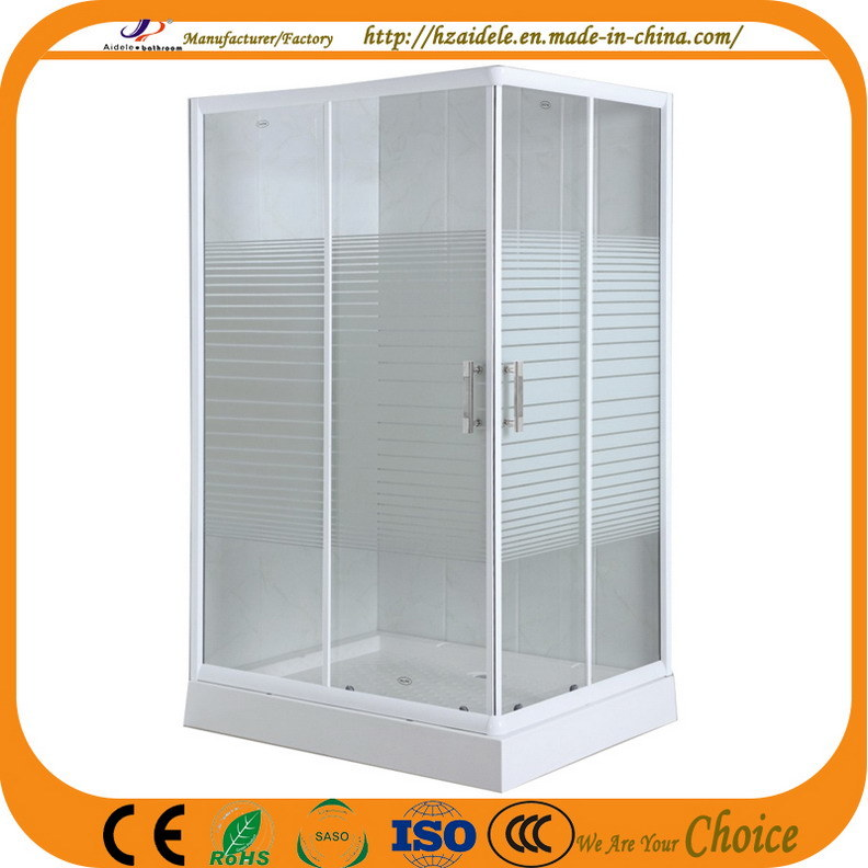 Stripe Glass 120*80cm Shower Room (ADL-8603)