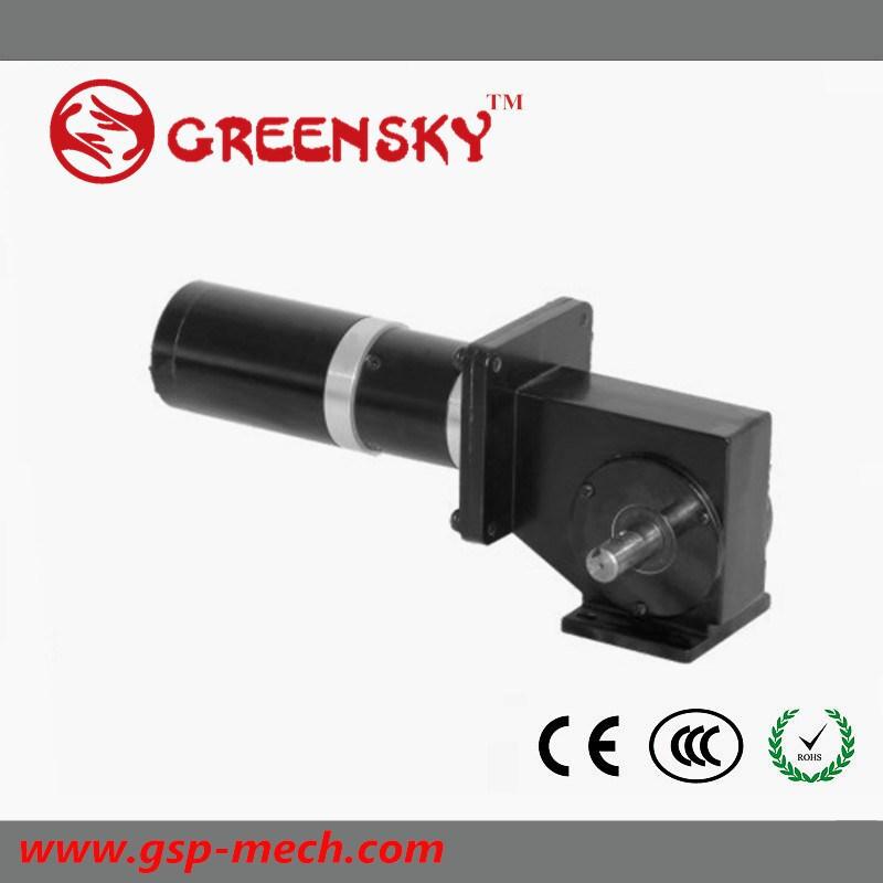 Micro 6W-400W 12V/24V/90V Brush/Brushless DC Gear Motor