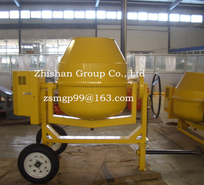 CM600 (CM50-CM800) Zhishan Portable Electric Gasoline Diesel Concrete Mixer