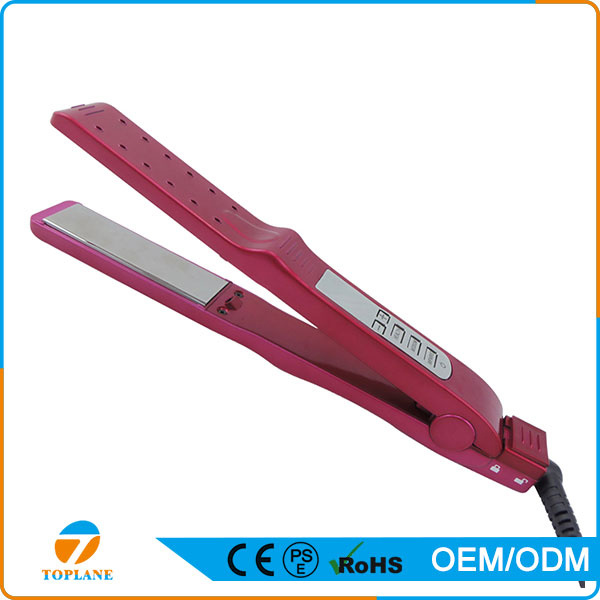 New Flat Iron Straightening Irons Styling Electric Hair Straightener