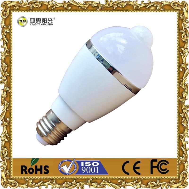 3W/5W/7W/9W Indoor Light LED Bulbs with Sensor