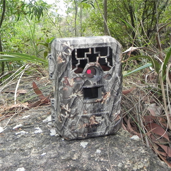 12MP HD 1080P Waterproof Black IR Hunting Camera