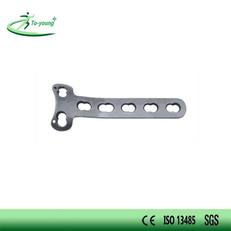 T Shahped Locking Compression Plate Orthopedic Implant LCP Plate
