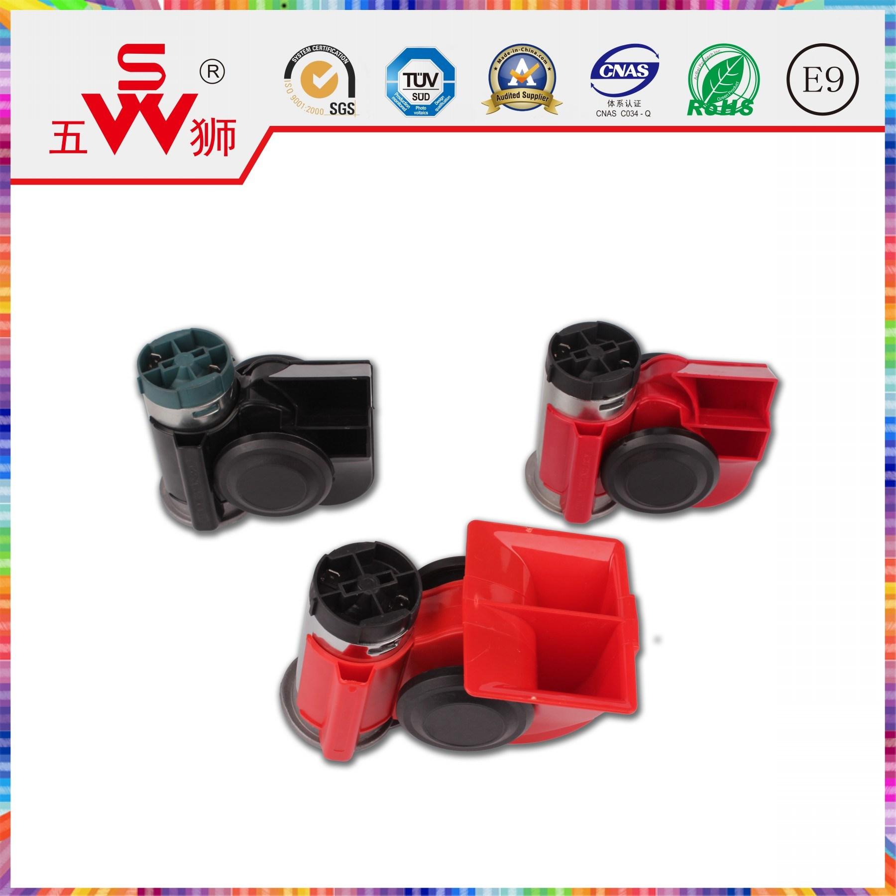 Polygonal 12V ABS Horn Auto Air Horn
