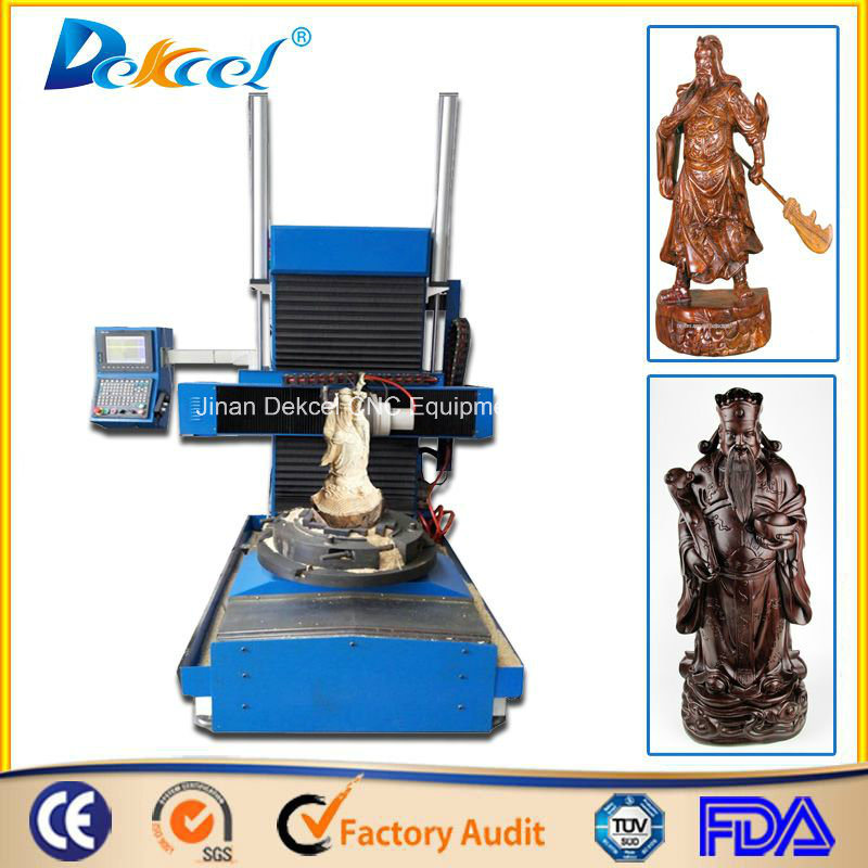 5 Axis Stone Sculpture Carving Router Machine Wood Carving Art CNC Engraver