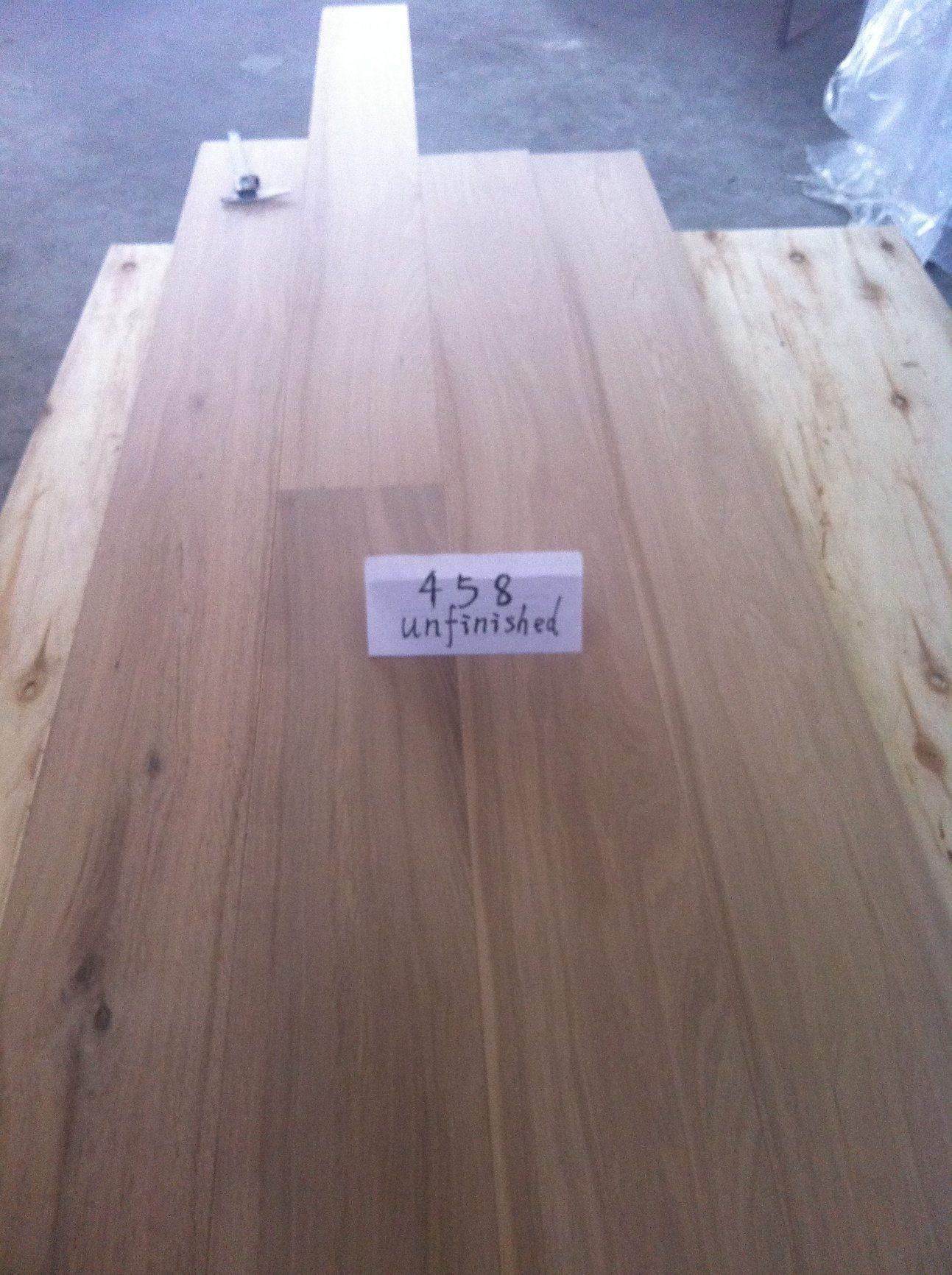 3 Layers T&G Unfinished Oak Parquet Flooring