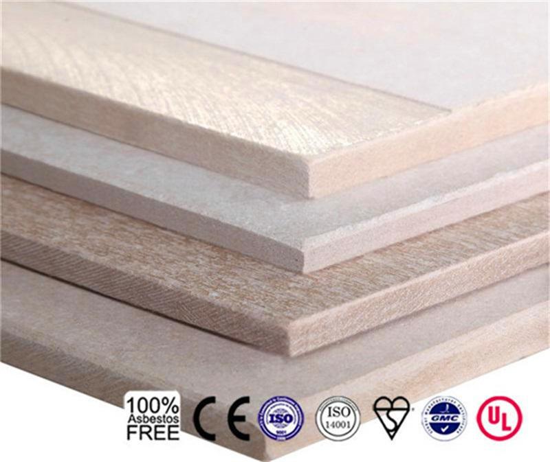 Heat Insulation Fireproof Light Weight Fiber Cement Board Sheet Board