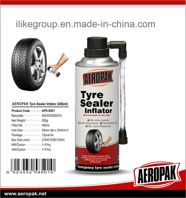 Aeropak Fix Flat Tire Inflator and Sealant