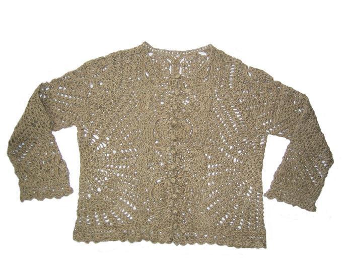 How to Crochet a Simple Cardigan | eHow.com