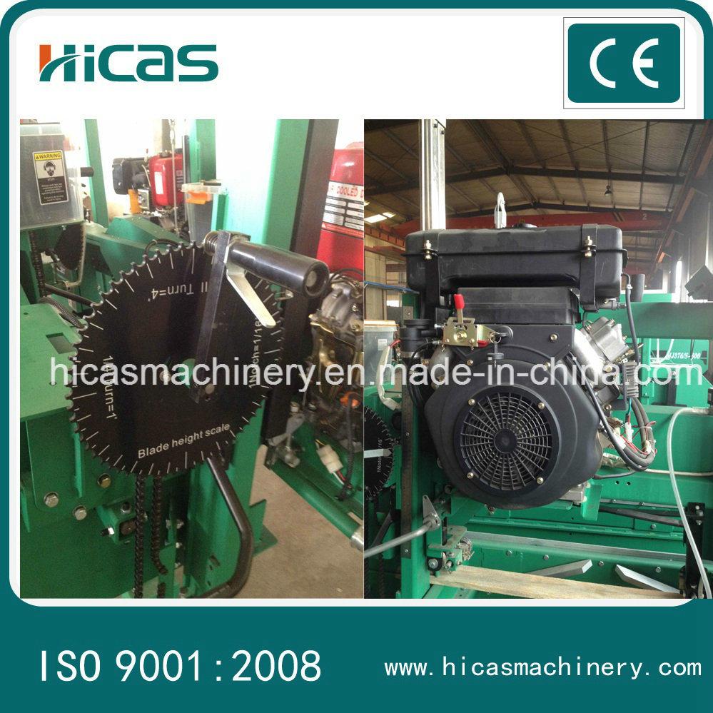 Professional Bandsaw Portable Horizontal Sawmill Machine
