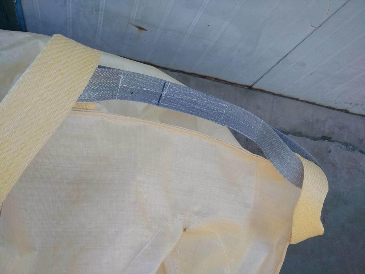 Yellow Color PP Bulk Bag Export to Korea