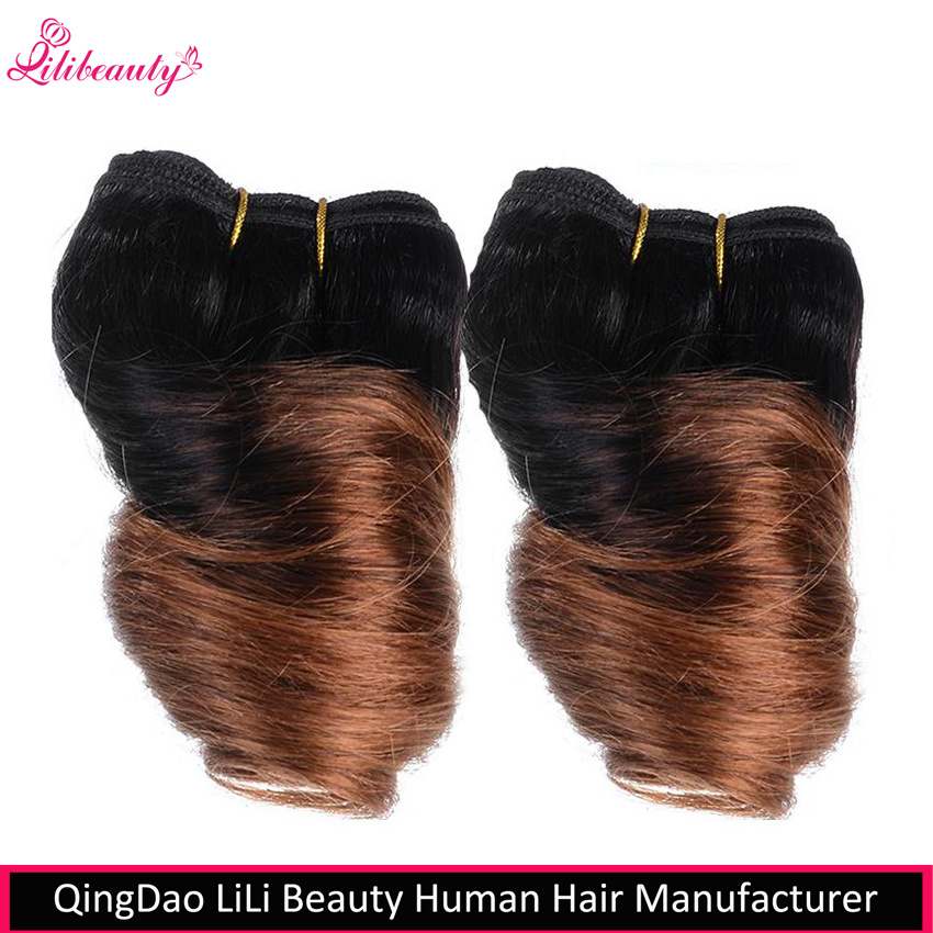 8 Inch Short Brazilian Virgin Hair Fumi Spring Curl Weave Bundles
