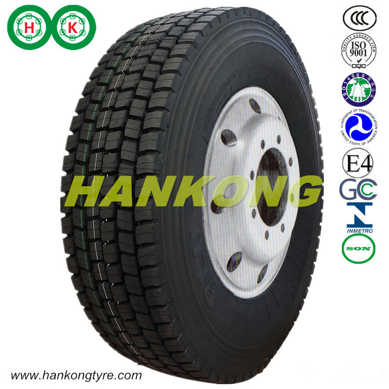 315/80r22.5 Radial Wheels Truck Tires Block Pattern Tires