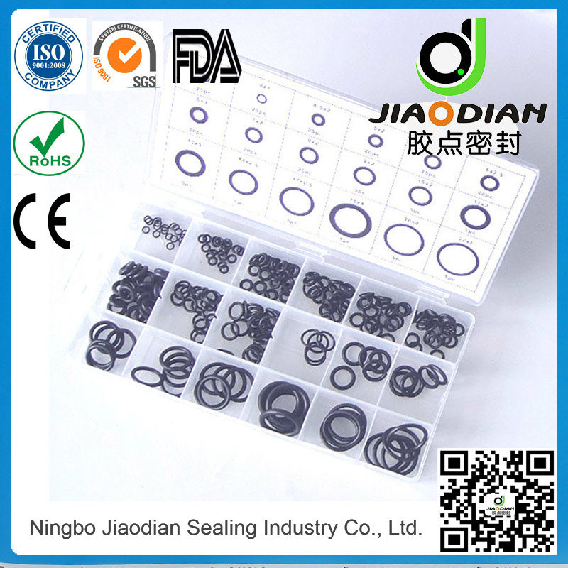 NBR O-Rings Tool Kit with SGS RoHS FDA Certificates JIS2401 Standard (KITS-SEAL-0009)