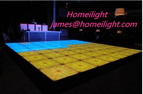 Free Shipping 4PCS/Lot 1 Meters DMX 512LED Dance Floors Controller Wedding Dance Floors Disco Effect Light Decoration