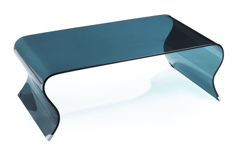 Grey Color Glass Table for Living Room furniture (TB-542)