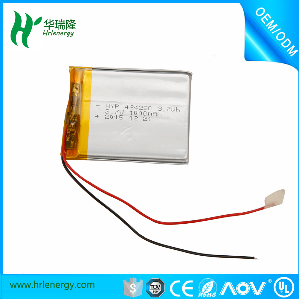1000mAh 3.7V Lithium Polymer Battery for Tablet PC