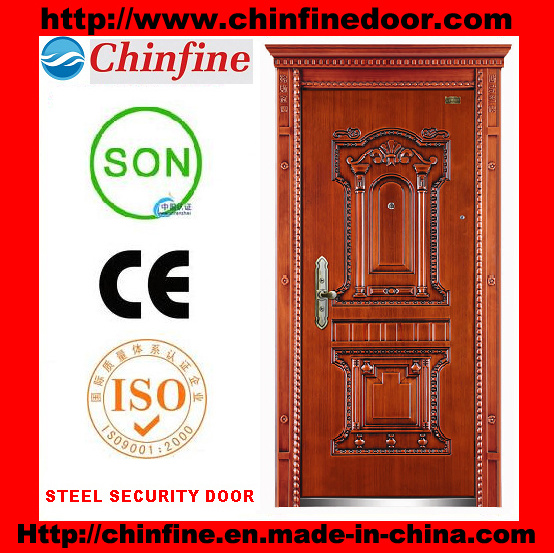 2016 New Design Security Steel Door (CF-903-B)
